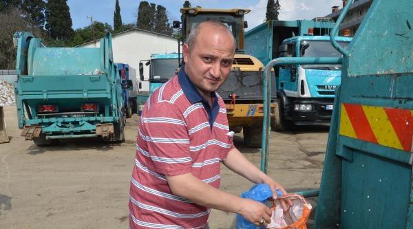 25 Bin Liralık Altın Tonlarca Çöp İçinden Bulundu
