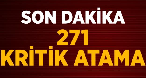271 Hakim ve Savcının Ataması Yapıldı...