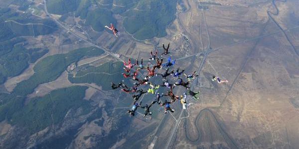 29 Ekim'de Havada Çoklu Tutuşma Rekoru Kirdilar - Ek Fotoğraf