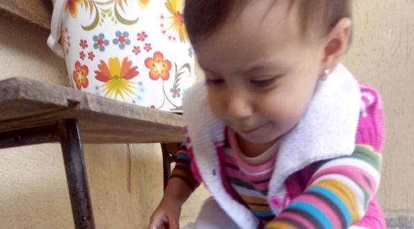 2 Yaşındaki Ayşe İle Yavru Ördeğin Dostluğu