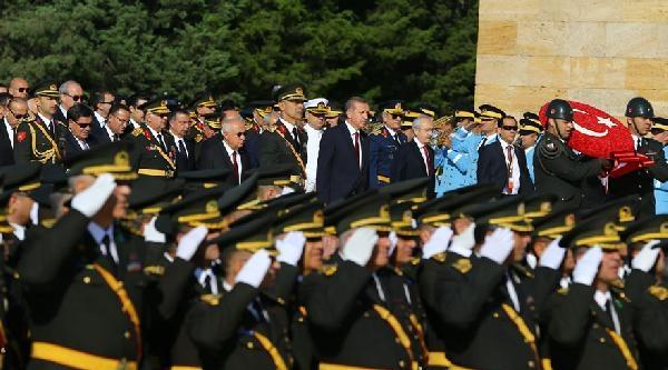 30 Ağustos İçin İlk Tören Anıtkabir'de Düzenlendi / Fotoğraflar