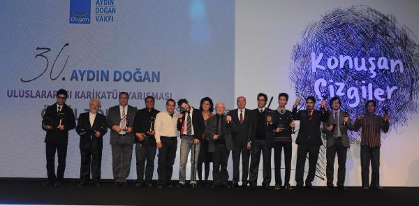 30. Aydin Doğan Uluslararasi Karikatür Yarişmasi Ödülleri Sahiplerini Buldu