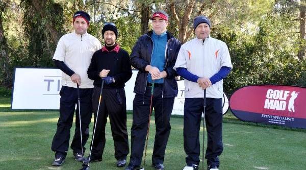 30 Bin Euro Ödül Dağitilan Golf Turnuvasi Başladi