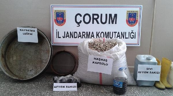 30 Kilo Afyon Sakızı İle Yakalanan Şüpheli Tutuklandı