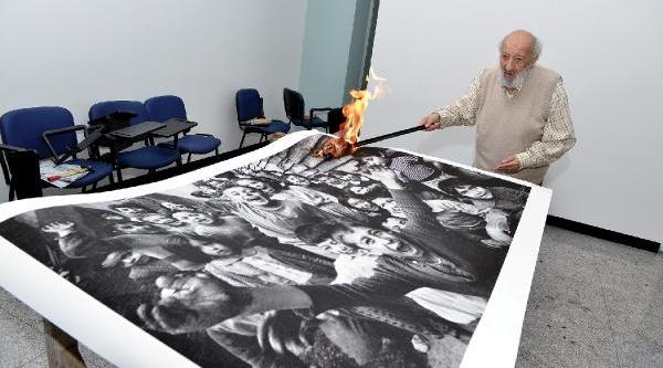 35 Sanatçi Sivas'i 'unutmamak' Ve 'unutturmamak Için' Eserlerini Yakti