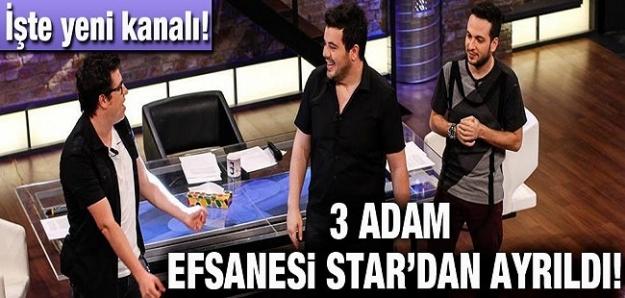 3 Adam Star TV'den ayrıldı! 3 Adam hangi kanala geçti?