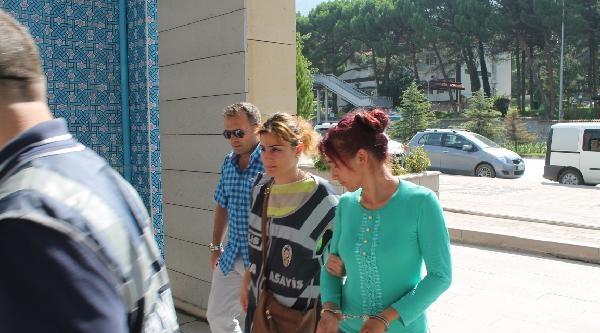 3 Evden Altın Çalan Kadınlar Tutuklandı