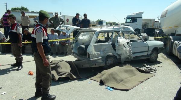 3 Kişinin Öldüğü Kazanın Ardından Konya-adana Karayolunu 2 Saat Ulaşıma Kapattılar
