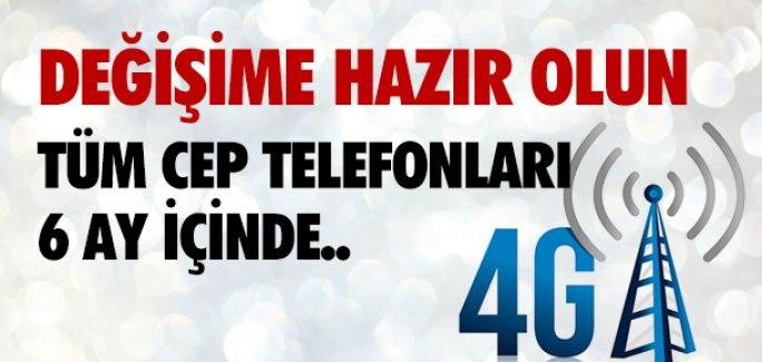 3G BİTTİ, SIRADA 4G VAR !