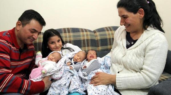 3'üncü Çocuğu Isterken Üçüzleri Olan Asgari Ücretli Baba Ne Yapacağini Şaşirdi