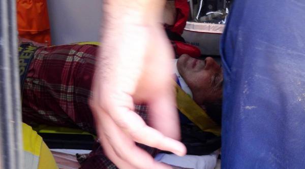 3'üncü Kattan Düşen İnşaat İşçisi Yaralandı