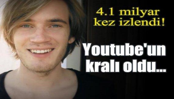 4.1 milyar kez izlendi! Youtube'un kralı oldu...