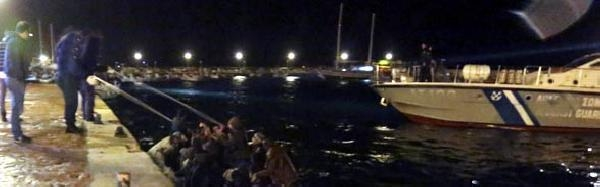 43 Kaçak, Ege Denizi'nde Ölümden Döndü