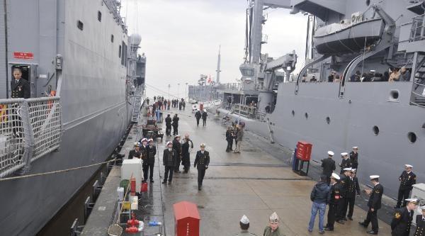 4 Savaş Gemisinin 102 Günlük Afrika Kıtası Seyri Başladı- Ek Fotograflar