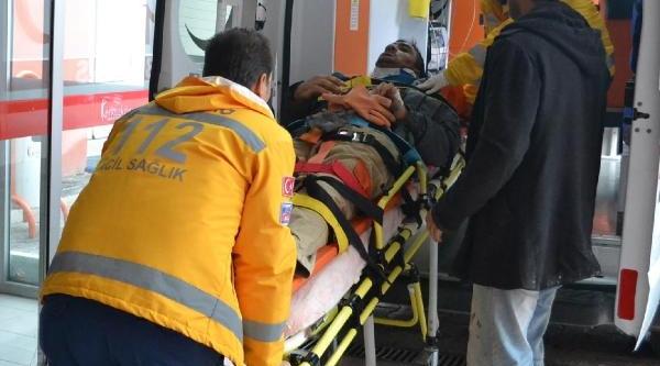 4'Üncü Kattan Düştü, Şans Eseri Yaralanmadi