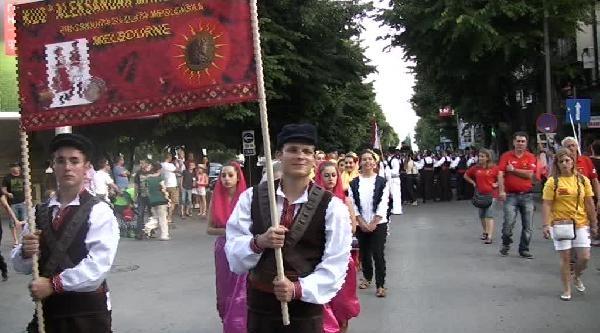 53. Balkan Halk Dansları Ve Şarkilari Festivali'ne Büyük İlgi