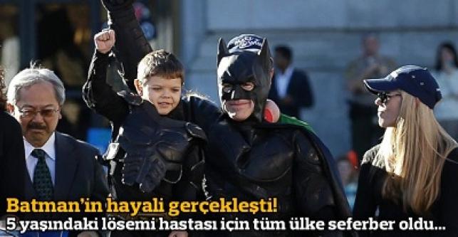 5 yaşındaki Scott'ın Batman hayali gerçek oldu...