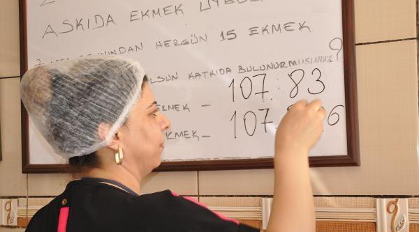 5 Yılda 108 Bin Ekmeği İhtiyaç Sahibine Ulaştırdı