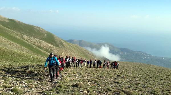 5'inci Artos Dağı Tırmanışı Yapıldı