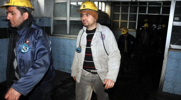 6.5 Saat Ocaktan Çikmayan Madenci Kazandi