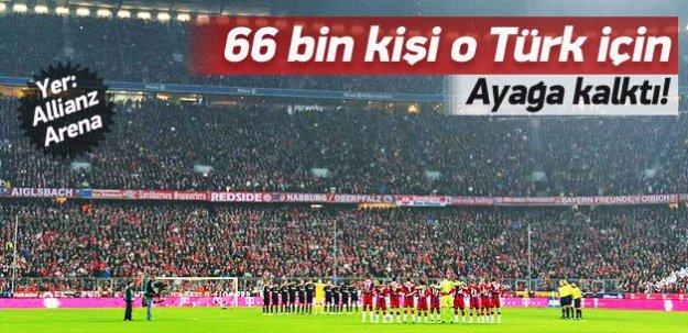 66 bin kişi o Türk için ayağa kalktı!