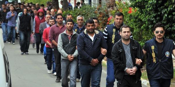 6 Ilde Sanal Kumar Operasyonu: 36 Gözalti