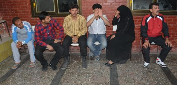 6 Suriyeli Hırsızlık Suçlamasıyla Yakalandı