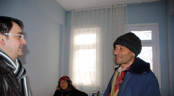 74 Yaşında Televizyon Ve Buzdolabına Kavuştu