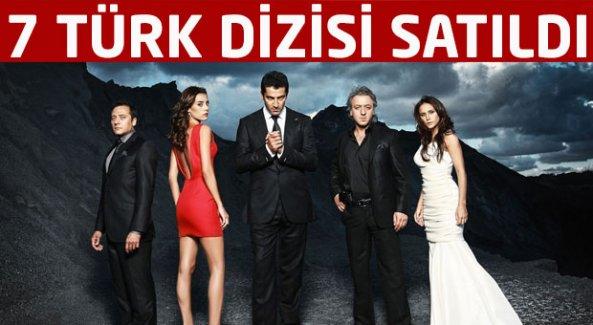 7 Türk dizisi yurtdışına satıldı!