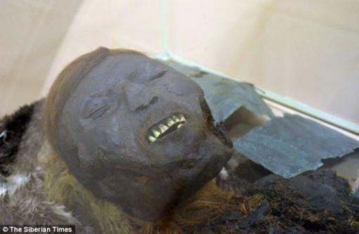 800 yıllık mumyanın gizemi...