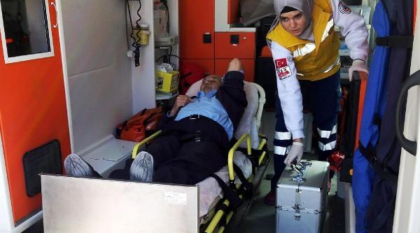 80 Yaşındaki Muhtar Adayı Seçim Heyecanından Hastanelik Oldu