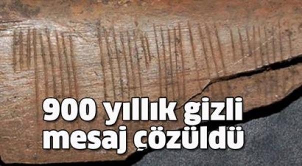 900 yıllık şifre çözüldü! İşte şaşırtan o mesajın sırrı!