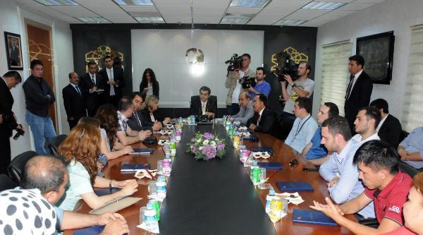 9 Ülkeden Gelen Memurlar Kayseri'yi Ziyaret Etti