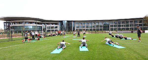 A Milli Futbol Takımı, Danimarka Maçının Hazırlıklarına Başladı