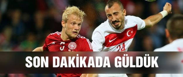 A Milli Takım Danimarka'yı devirdi