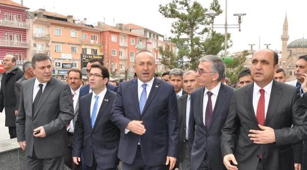 Ab Bakanı Çavuşoğlu: Son Derece Açık Ve Şeffafiz