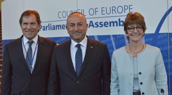Ab Bakanı Mevlüt Çavuşoğlu Fransa Tümsiad'ı Ziyaret Etti