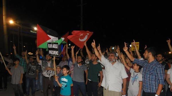 Abd Adana Konsolosluğu Önünde İsrail Protestosu