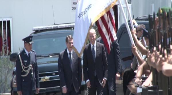 Abd Başkan Yardımcısı Biden, Rum Lider Anastasiadis İle Bir Araya Geldi