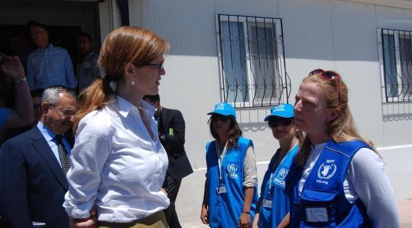Abd Birleşmiş Milletler Temsilcisi Power Nizip'te