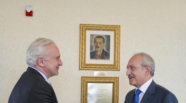 Abd Büyükelçisi Rıccıardone, Kılıçdaroğlu'nu Ziyaret Etti