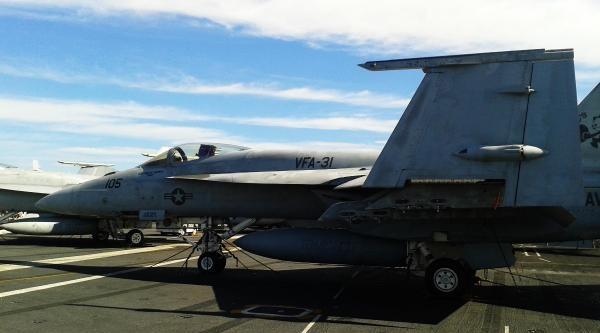 Abd Donanmasının En Ünlü Uçak Gemisi Ege'de