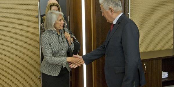 Abd Düşünce Kuruluşu Ve Pacific Council Yönetici Üyeleri, Kiliçdaroğlu'nun Ziyaret Etti