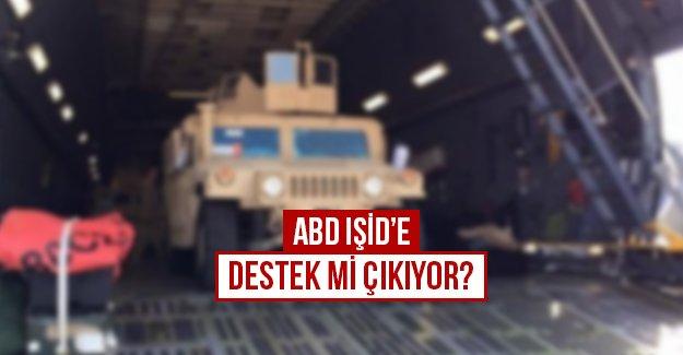 ABD IŞİD'e destek mi çıkıyor?