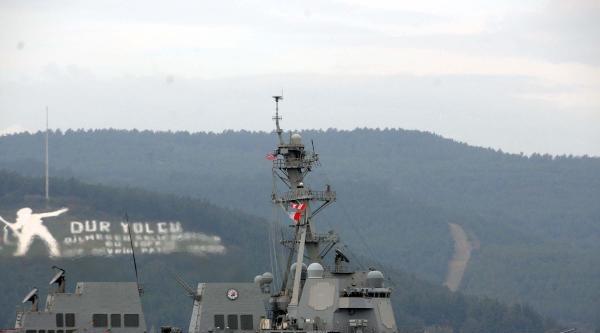 Abd Savaş Gemisi Çanakkale Boğazı'ndan Geçti- Ek Fotoğraflar