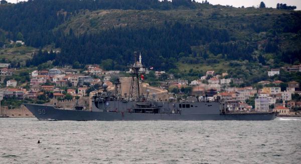 Abd Savaş Gemisi 'taylor' Ege'ye İniyor