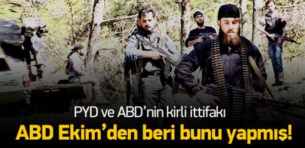ABD vurdu PYD ilerledi