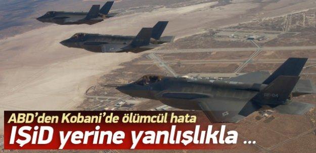 'ABD YPG militanlarını vurdu'