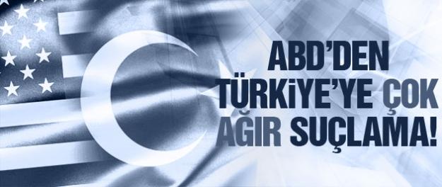 ABD'den Türkiye'ye çok ağır IŞİD ithamı!