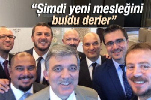 Abdullah Gül foto muhabirlerini kabul etti